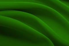 Πράσινο υπόβαθρο υφάσματος και καμβά Στοκ Φωτογραφίες