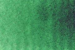 Πράσινο υπόβαθρο watercolor κλίσης στενό έγγραφο ανασκόπησης που αυξάνεται Backgrou Στοκ Εικόνα