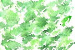 Πράσινο υπόβαθρο Watercolor Διανυσματική απεικόνιση