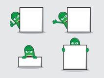 Πράσινο φασόλι με τον πίνακα Στοκ φωτογραφία με δικαίωμα ελεύθερης χρήσης