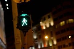 πράσινο φως Στοκ φωτογραφία με δικαίωμα ελεύθερης χρήσης