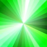 Πράσινο φως Ray Abstract Background Διανυσματική απεικόνιση