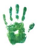 πράσινο χέρι στοκ εικόνες