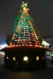Πράσινο χριστουγεννιάτικο δέντρο Στοκ Εικόνες