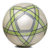 Πράσινο χρυσό ποδόσφαιρο σχεδίων Στοκ φωτογραφία με δικαίωμα ελεύθερης χρήσης
