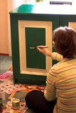 πράσινο χρώμα Στοκ Εικόνες