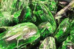 πράσινο χρώμιο-διοψίδιο μετάλλευμα Στοκ φωτογραφία με δικαίωμα ελεύθερης χρήσης