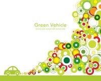 πράσινο όχημα διανυσματική απεικόνιση
