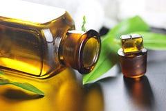 Πράσινο ύφασμα μπουκαλιών SPA Στοκ εικόνα με δικαίωμα ελεύθερης χρήσης