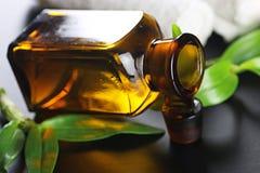 Πράσινο ύφασμα μπουκαλιών SPA Στοκ Εικόνες