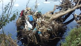 πράσινο ύδωρ ρύπανσης σημειώσεων Στοκ εικόνες με δικαίωμα ελεύθερης χρήσης