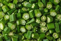 Πράσινο bindi περικοπών Στοκ Φωτογραφίες