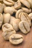 Πράσινο coffe (arabica coffea) Στοκ εικόνες με δικαίωμα ελεύθερης χρήσης