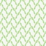 Πράσινο floral άνευ ραφής πρότυπο Στοκ εικόνες με δικαίωμα ελεύθερης χρήσης