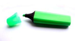 πράσινο highlighter στοκ εικόνα