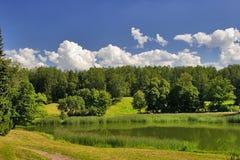 πράσινο idyl Στοκ εικόνες με δικαίωμα ελεύθερης χρήσης