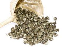 πράσινο jasmine τσάι στοκ εικόνα με δικαίωμα ελεύθερης χρήσης