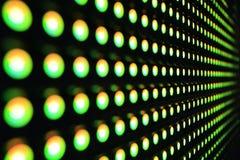 Πράσινο LEDs Στοκ εικόνες με δικαίωμα ελεύθερης χρήσης