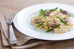 πράσινο macaroni φασολιών λουκά&n Στοκ φωτογραφίες με δικαίωμα ελεύθερης χρήσης