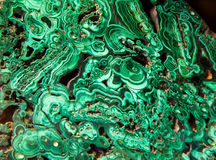 Πράσινο malachite μετάλλευμα Στοκ Εικόνα