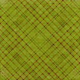 πράσινο plaid ελιών ανασκόπησης Στοκ Εικόνα