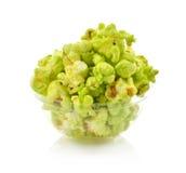 Πράσινο popcorn Στοκ Εικόνες