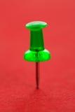 πράσινο pushpin Στοκ φωτογραφία με δικαίωμα ελεύθερης χρήσης