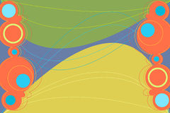 πράσινο retronation απεικόνιση αποθεμάτων