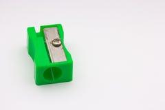 Πράσινο sharpener Στοκ Φωτογραφία