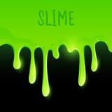 Πράσινο Slime Gooey ελεύθερη απεικόνιση δικαιώματος