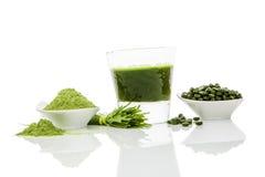 Πράσινο superfood. Στοκ φωτογραφία με δικαίωμα ελεύθερης χρήσης