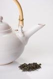 πράσινο teapot τσαγιού στοκ εικόνες με δικαίωμα ελεύθερης χρήσης