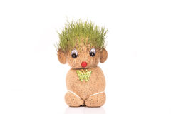 Πράσινο Teddy στοκ φωτογραφία με δικαίωμα ελεύθερης χρήσης