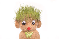 Πράσινο Teddy στοκ εικόνες