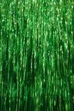 πράσινο tinsel ανασκόπησης Στοκ φωτογραφία με δικαίωμα ελεύθερης χρήσης
