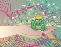 πρίγκηπας βατράχων ελεύθερη απεικόνιση δικαιώματος