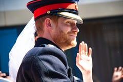 Πρίγκηπας Harry και γάμος της Meghan Markle Στοκ Εικόνα
