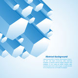 Πρίσμα Cristal Διανυσματική απεικόνιση για την επιχειρησιακή παρουσίασή σας Στοκ Φωτογραφία