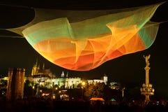 ΠΡΑΓΑ, ΔΗΜΟΚΡΑΤΊΑ ΤΗΣ ΤΣΕΧΊΑΣ - 17 ΟΚΤΩΒΡΊΟΥ: Φεστιβάλ 2015 σημάτων Στοκ Φωτογραφία