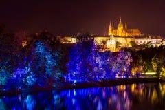 ΠΡΑΓΑ, ΔΗΜΟΚΡΑΤΊΑ ΤΗΣ ΤΣΕΧΊΑΣ - 17 ΟΚΤΩΒΡΊΟΥ: Φεστιβάλ 2015 σημάτων Στοκ Εικόνες
