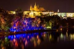 ΠΡΑΓΑ, ΔΗΜΟΚΡΑΤΊΑ ΤΗΣ ΤΣΕΧΊΑΣ - 17 ΟΚΤΩΒΡΊΟΥ: Φεστιβάλ 2015 σημάτων Στοκ φωτογραφίες με δικαίωμα ελεύθερης χρήσης