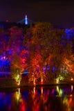 ΠΡΑΓΑ, ΔΗΜΟΚΡΑΤΊΑ ΤΗΣ ΤΣΕΧΊΑΣ - 17 ΟΚΤΩΒΡΊΟΥ: Φεστιβάλ 2015 σημάτων Στοκ Φωτογραφίες