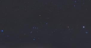 πραγματικά αστέρια νύχτας Στοκ Εικόνες