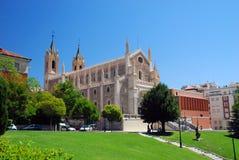 Πραγματική εκκλησία EL nimo SAN Jerà ³ στη Μαδρίτη, Ισπανία Στοκ φωτογραφία με δικαίωμα ελεύθερης χρήσης