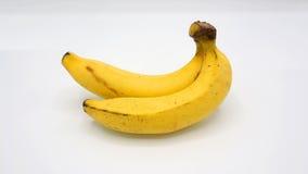 Πραγματική μπανάνα δύο Στοκ φωτογραφία με δικαίωμα ελεύθερης χρήσης