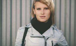 Πραγματική νέα γυναίκα Στοκ Εικόνες