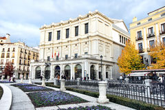 Πραγματική Όπερα Teatro, Μαδρίτη, Ισπανία Στοκ φωτογραφίες με δικαίωμα ελεύθερης χρήσης