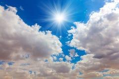 Πραγματικός ήλιος Στοκ φωτογραφίες με δικαίωμα ελεύθερης χρήσης