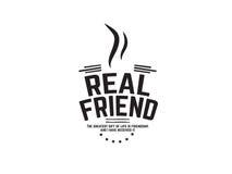 Πραγματικός φίλος Στοκ εικόνες με δικαίωμα ελεύθερης χρήσης