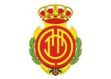 Πραγματικό λογότυπο Deportivo Μαγιόρκα λεσχών ελεύθερη απεικόνιση δικαιώματος